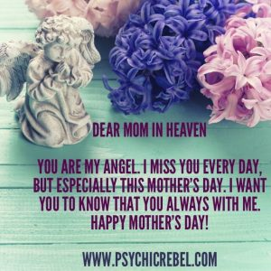 Dear mom in heaven