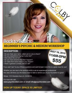 Psychic & Medium Workshop