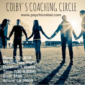Colby's - Spiritual Coaching
