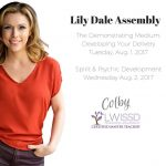 Colby heads to Lily Dale