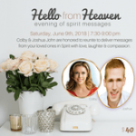 SPIRIT MESSAGES-Medium Joshua John & Colby