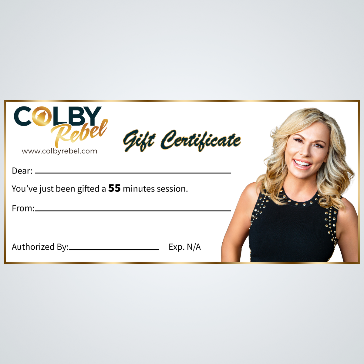55 Minute Gift Certificate