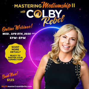 Mastering Mediumship Online Workshop