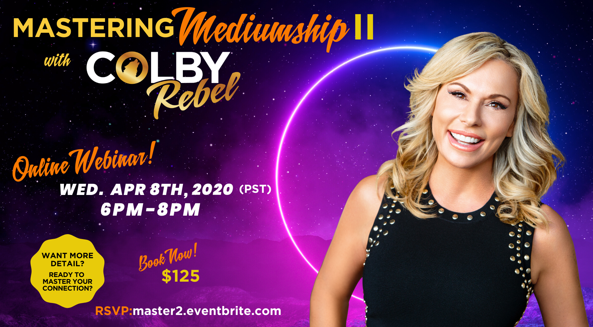 Online Mediumship Class with Colby Rebel